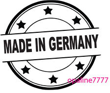 STICKER AUTOCOLLANT  MADE IN GERMANY POUR BMW  R1150 1200RT K1200 S1000RR F800R