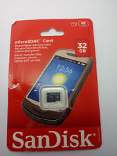 SanDisk 32GB Mobile MicroSDHC Flash Memory Card