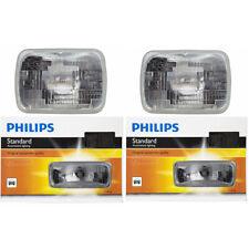 Philips High Low Beam Headlight Light Bulb for Dodge W350 D350 B350 Aspen tx