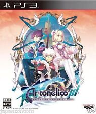 Used PS3 Ar tonelico III 3  SONY PLAYSTATION 3 JAPAN JAPANESE IMPORT