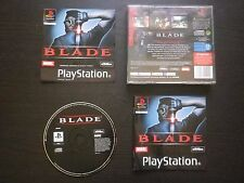 BLADE : JEU Sony PLAYSTATION PS1 PS2 (Marvel / Activision COMPLET envoi suivi)