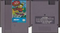 Simpsons: Bart vs The Space Mutants - Nintendo NES - Tested - Cartridge Only