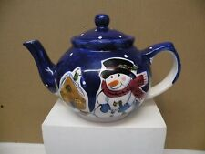 Potter And Smith Snowman Teapot