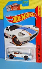 2015 Hot Wheels Race #178 K-Mart Days Ford Shelby GR-1 Concept - Matte White