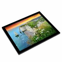 A3 Glass Frame - Aval Etretat Normandy France Art Gift #12480