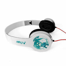 Anime Hatsune Miku White Headphone Headset Earphone Logo Emblem New in Box A