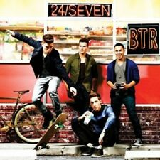 BIG TIME RUSH - 24/SEVEN  CD 15 TRACKS POP INTERNATIONAL NEU