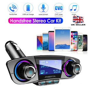 Wireless Bluetooth Car Kit FM Transmitter MP3 Player 2Port USB Charger Handsfree
