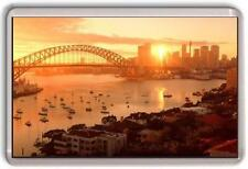 Sydney Harbour sunset Fridge Magnet #2