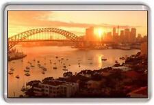 Sydney Harbour sunset Fridge Magnet #2