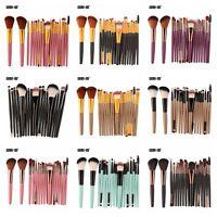 Pro 18 Pcs Set Makeup Brushes Eye Shadow Foundation Eyebrow Lip Brush Suit Tools