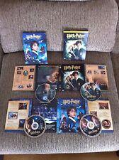 HARRY POTTER Y LA PIEDRA FILOSOFAL + CAMARA SECRETA - 4 DVD DELUXE EDITION