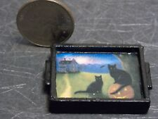 Dollhouse Miniature Halloween Serving Tray 1:12 inch scale D61 Dollys Gallery