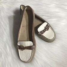 Aerosoles shoes leather loafer ballet flat size 7