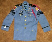 Vintage US Army JROTC Original Military Uniform Dress Jacket & Pants