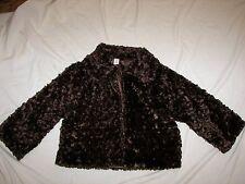 Women's MIXIT Plush Open Front Jacket - Size S