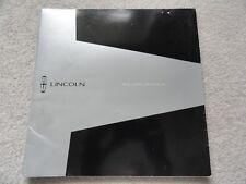 2000 Lincoln Ls Sales Brochure