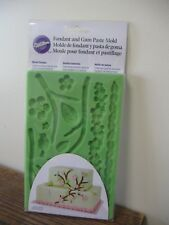 New! Wilton Fondant & Gum Paste Cake Decorating Mold- Nature