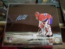 Montreal Canadiens Photo Auto Jaroslav Halak 8x10 NHL