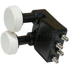 ► Inverto  Monoblock Black Pro QUAD LNB  0,2 dB  HDTV  NEU  OVP 3D