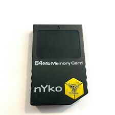 Nintendo Gamecube nYko Used Aftermarket 64MB Memory Card 1019 Blocks Save