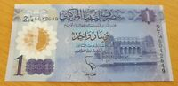 LIBYA 1 Dinar 2019 P New Commemorative UNC Banknote