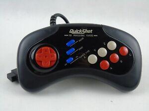 Sega Mega Drive Quickshot Controller Turbo Professional Players 6 Button QS-173