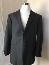 Hickey Freeman Grey Blazer 100% Wool 46 Long-A61