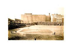 HUNTINGTON AVENUE GROUNDS BOSTON  PHOTO PILGRIMS SOX  BASEBALL STADIUM