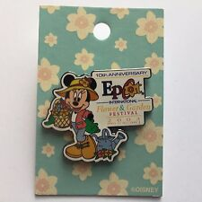 Flower & Garden Festival 2003 - 10th Anniversary Minnie Mouse Disney Pin 21614