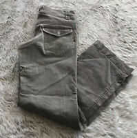 Kuhl Brown Khaki Cotton Blend Outdoor Flap Pockets Hiking Pants Women's 6