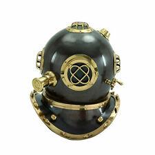 "Medieval Epic 18"" Black US Navy V Mark Diving Divers Helmet Replica"