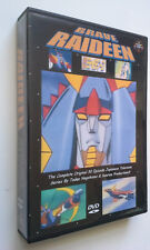 RAIDEEN RAYDEEN REIDEEN DVD set Shogun Warriors Gaiking Mazinger Z Getter Robo