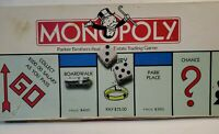 Monopoly Board Game Vintage 1985 Edition Parker Brothers.