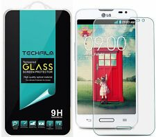 TechFilm® Tempered Glass Screen Protector Saver Shield For LG Optimus L70