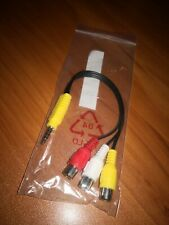 TCL Vizio LG TV Audio Video AV AUX to RCA Mini Composite Adapter Jack Cable