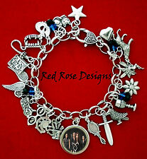~THE MORTAL INSTRUMENTS INSPIRED CHARM BRACELET~