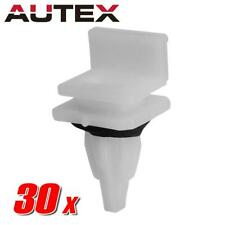 30pcs Nylon Rocker Panel Clip Molding Retainer Fastener For Acura
