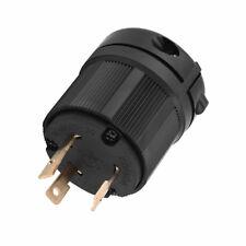 NEMA L5-30P 125V 30 amp Industrial Twist Lock Male Plug Adapter  (3-Pole 3-Wire)