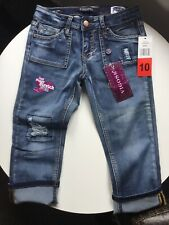Vigoss Girls Capri Jeans Size 10 New With Tags