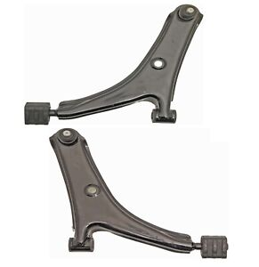 Pair Set 2 Front Lower Control Arms & Ball Joints Kit Dorman For Geo Metro 89-94