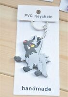"Pokamon Poochyena Keychain Toy Keyring Pendant Accessory 3"" US Seller"