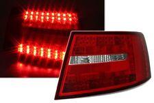 2 FEUX ARRIERE LED POUR AUDI A6 4F DE 04/2004 A 06/2008 AVEC PRISE 6 PIN