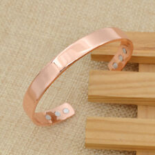 Magnetic Copper Bracelet Bangle Arthritis Healing Pain Relief Unisex Gift 1 Pc