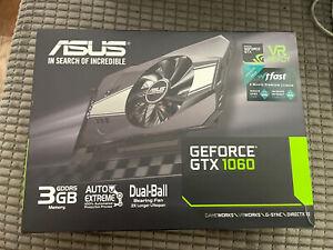 ASUS Geforce GTX 1060 3gb Graphics Card