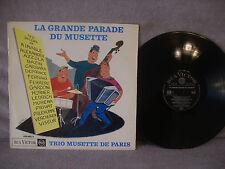 Trio Musette De Paris, La Grande Parade Du Musette, RCA Victor 430 083, France