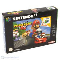 N64 / Nintendo 64 jeu - Super Mario Kart 64 dans l'emballage utilisé COMME NEUF