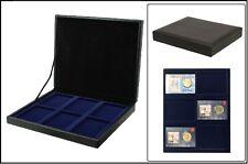 Safe 63730 nova de Luxe Tirelire Noir 6 cases Pour coincards Coin-Cards