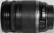 Canon EF-S 18-200mm f/3.5-5.6 Lente IS Completamente Funcional
