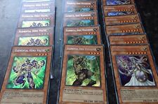 Yugioh x3 Secret Rares ELEMENTAL HERO VOLTIC, ELEMENTAL HERO WOODSMAN & ATHENA